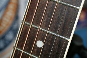 guitarra trastes guitar