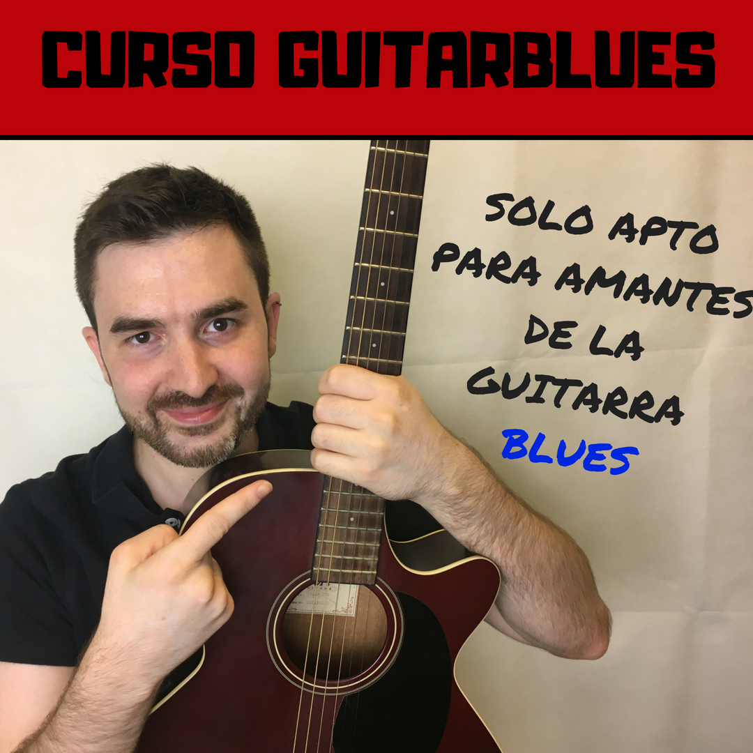 como tocar blues con guitarra, curso de blues guitarra