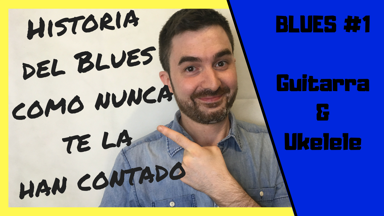 Historia del Blues - Curso de Blues para guitarra y ukelele