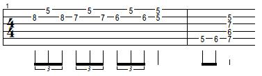 turnaround de blues para guitarra electrica acustica