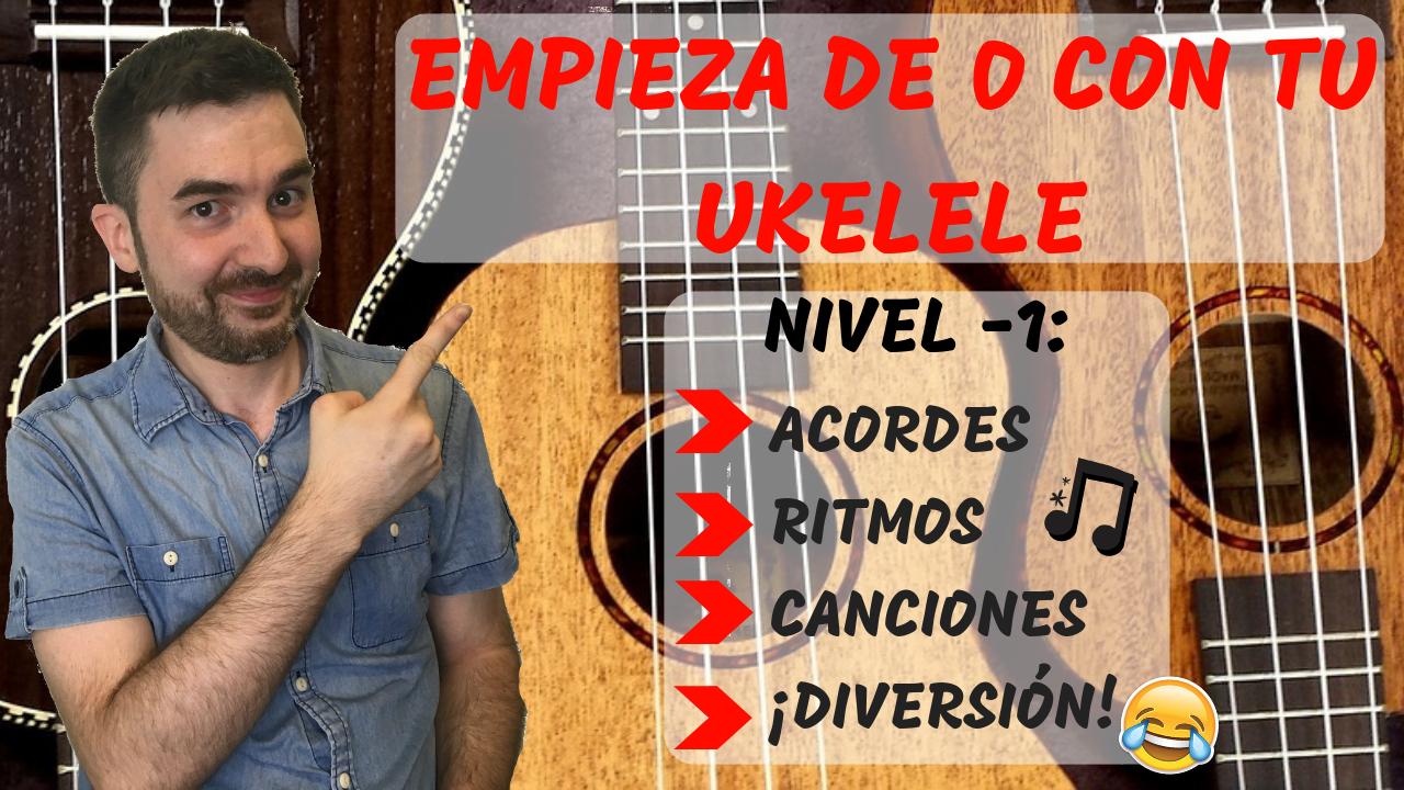 ► Cómo aprender a tocar el ukelele (paso a paso) 🍍 [curso para principiantes]