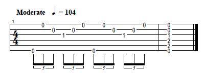 como tocar arpegios guitarra