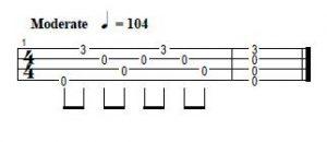 como tocar arpegios acordes ukelele