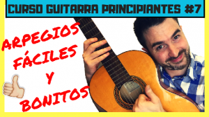 como tocar arpegios de guitarra para principiantes