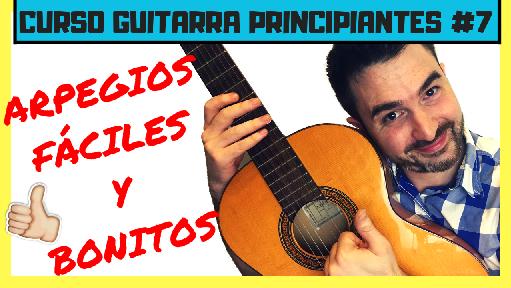 ▶ Cómo tocar arpegios en Guitarra