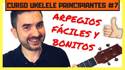 como tocar arpegios de ukelele para principiantes