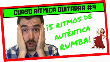 como tocar ritmo de rumba en guitarra española y rumba catalana con guitarra