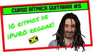 como tocar ritmo de reggae para guitarra