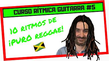 ▶ Cómo tocar RITMO de Reggae en Guitarra