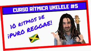 como tocar ritmo reggae en ukelele