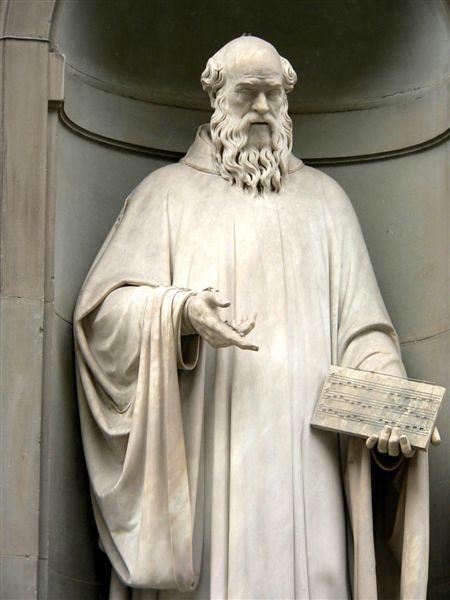 guido d'Arezzo y el origen de las notas musicales